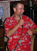 DJ Mattias Nyström är karaokevärd